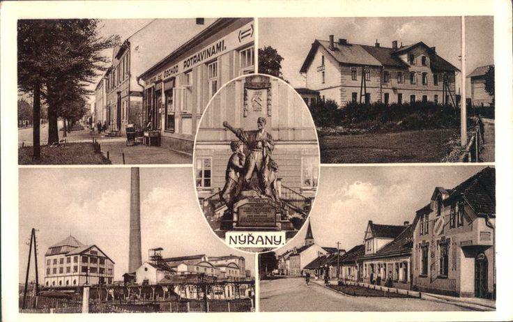 1930 Nýřany, pohled