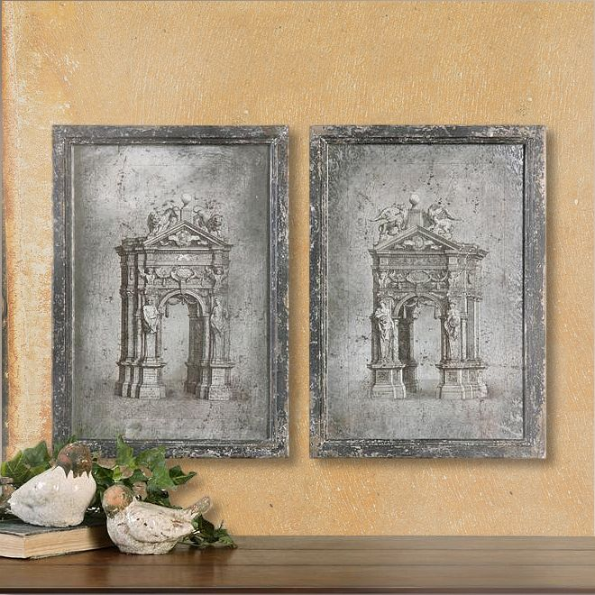 Uttermost's Mirrors Combine Premium Quality Materials With Unique  High-style Design. Find this Pin and more on Wall Decor for Silver Bathroom  ...