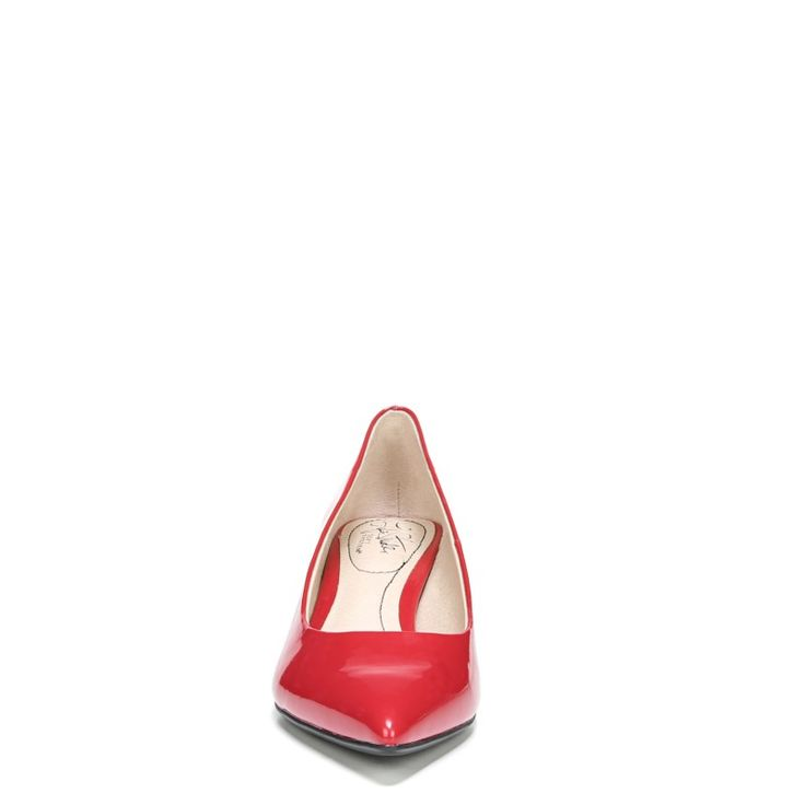 Lifestride Women's Pretty Medium/Wide Pump Shoes (Fire Red)