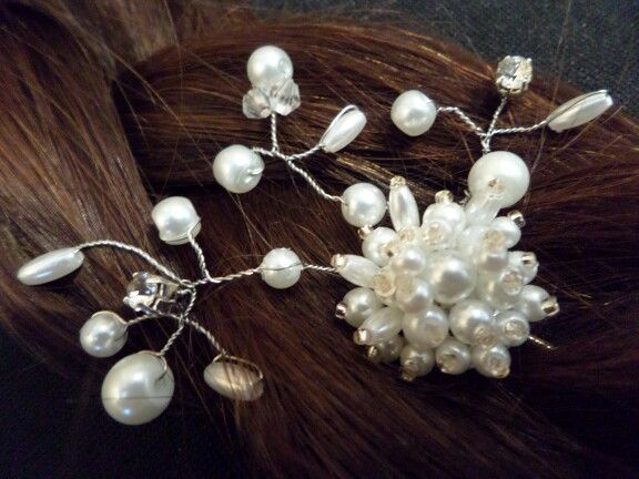 Another hairpin for my bridal range!
