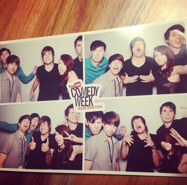 All my favorite youtubers.