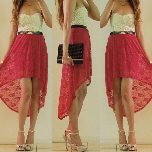 Vestido cola de pato Estas faldas me gustan hace como casi un año en las fotos de México me voy hacer una