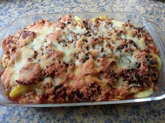 Verrassende Griekse Gyros Aardappelschotel recept | Smulweb.nl