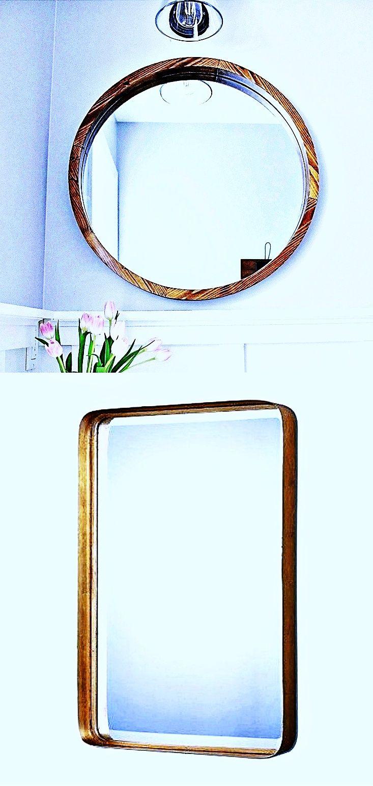 Awesome 18 X 24 Bathroom Mirror Bedroom Mirror Mirror Wall Living Room Hanging Mirror [ 1544 x 733 Pixel ]