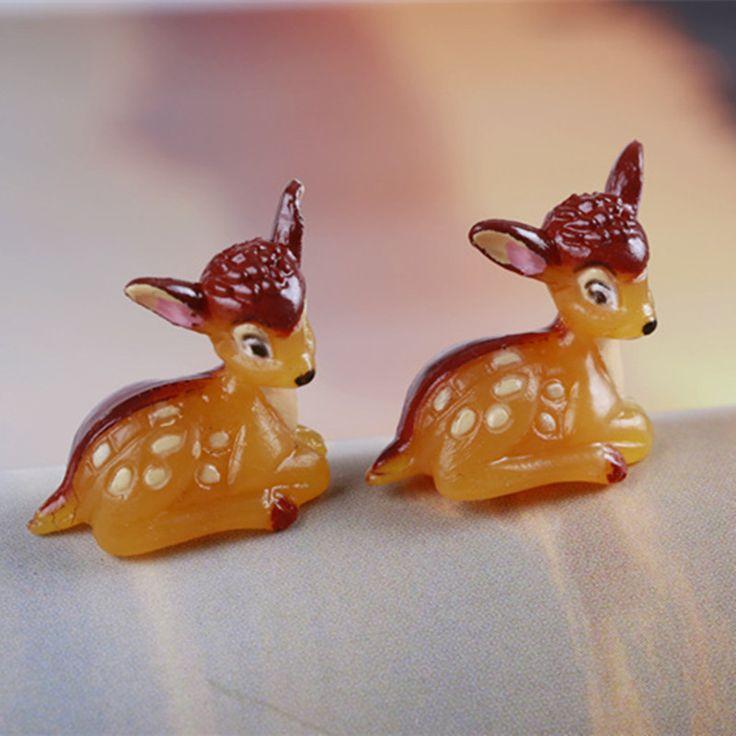Aliexpress.com: Comprar Deer Fawn Animal Miniatura Jardín De Hadas Casas Casero Decoración Mini Craft Micro de Jardinería Decoración DIY Accesorios de craft painting fiable proveedores en MOVING FOREST Miniature Store