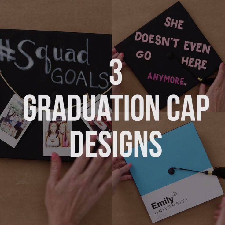 3 DIY Graduation Cap Design Ideas