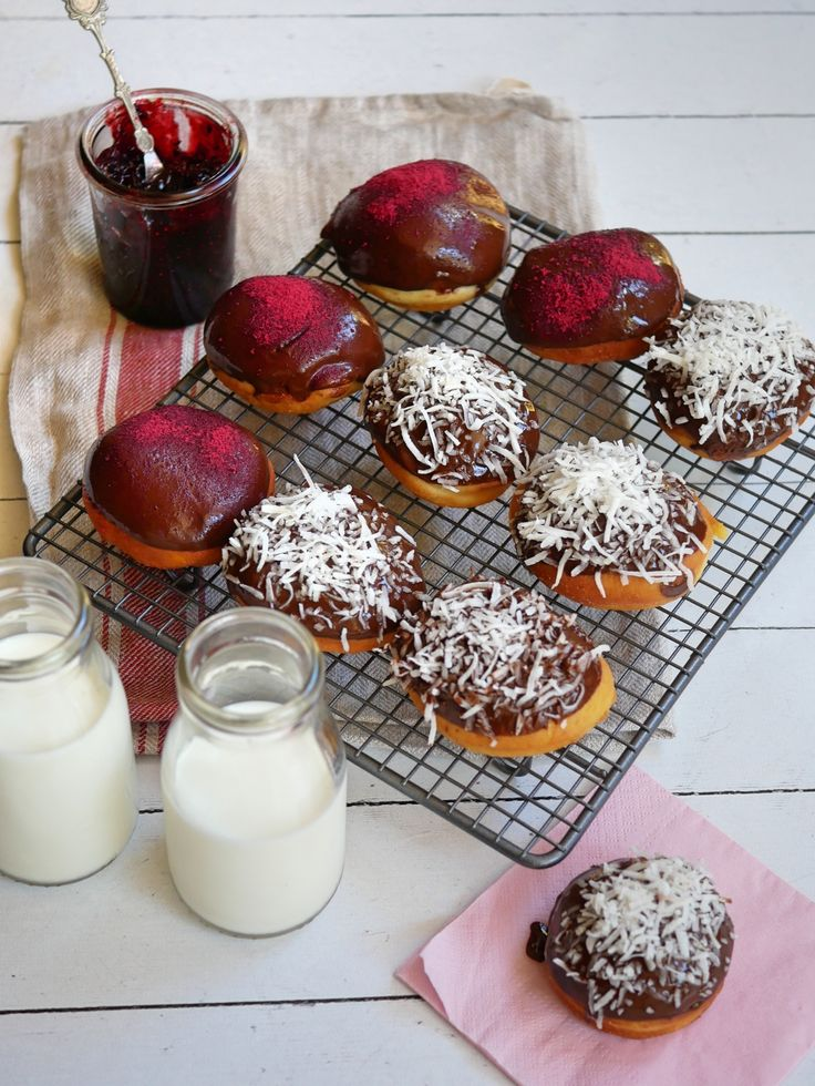 I love a good donut any day of the year...and Australia Day was the perfect excuse to trot out Lamington Donuts. SO much better than just a lamington!
