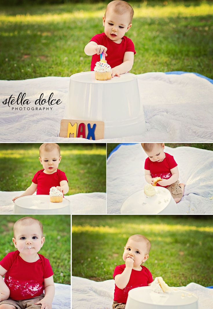 Max turns ONE | Stella Dolce Photography | www.stelladolcephotography.com | first birthday, one year old, baby boy, cake smash