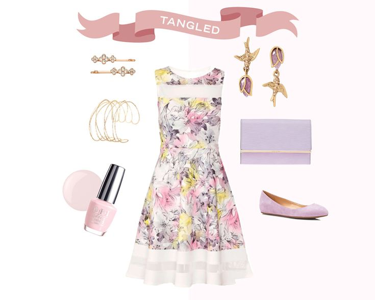 Get Tangled up in this charming Disney-inspired graduation outfit