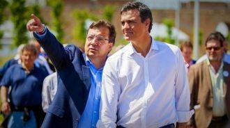 """Fernández Vara echa cuentas electorales y sacude un """"tortazo de realidad"""" a Sánchez y a Podemos"""