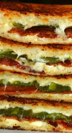 Bacon & Jalapeno Popper Grilled Cheese
