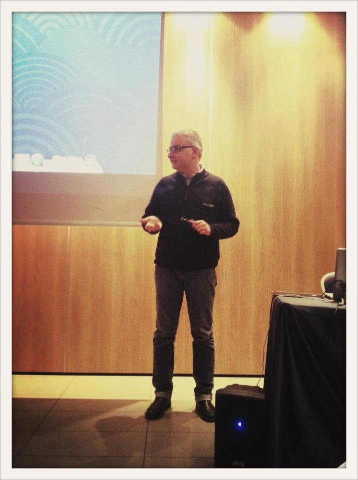 Gianluca Catzeddu's talk @ AE Academy