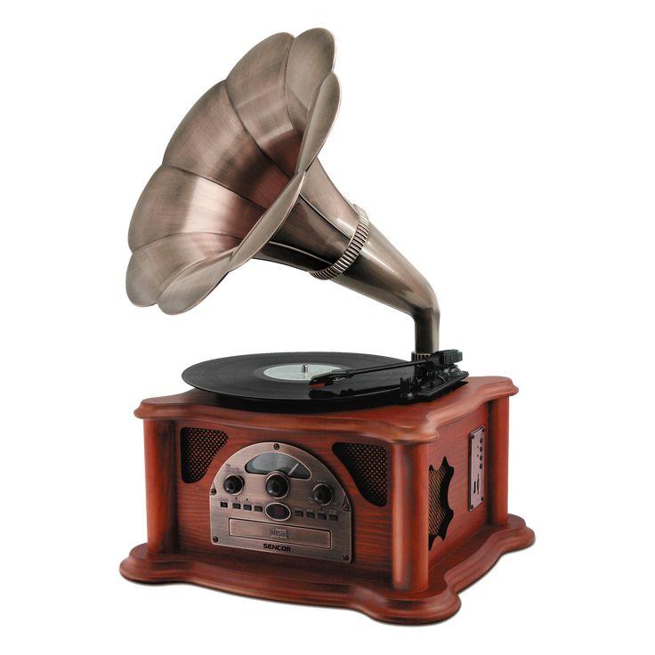 STT 018 TUBE Retro gramofón