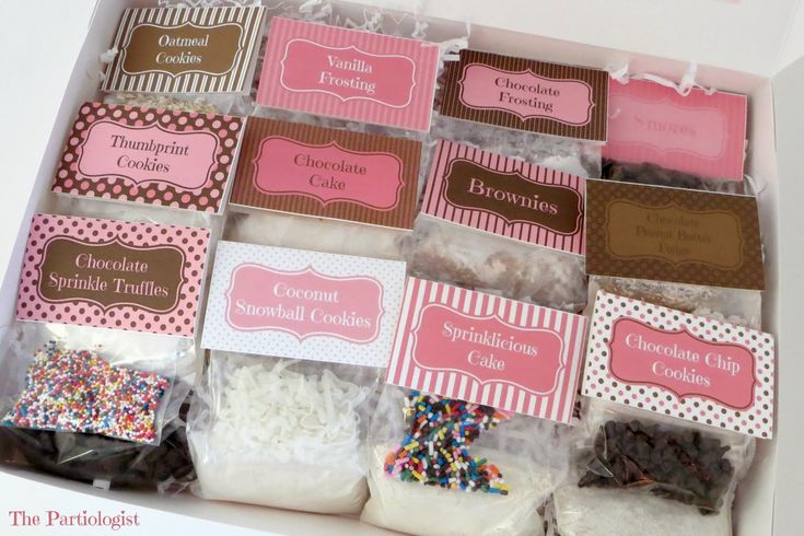 The Partiologist DIY Easy Bake Oven Mixes and Printables...