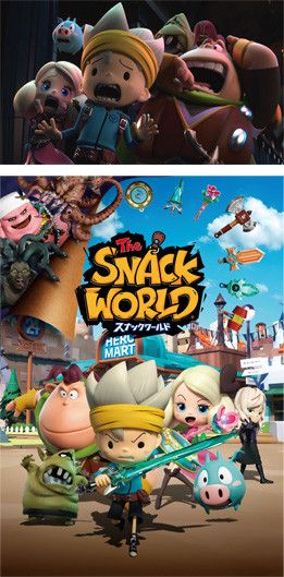 Snack World Nintendo 3DS Game's Video Reveals July 13 Release Date