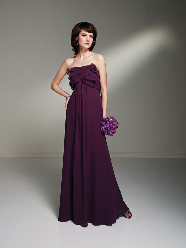 Sophia Tolli.  The color is aubergine.: Occa Dresses Styl, By21265 Colors, Bridesmaid Dresses, Wedding, Bridesmaids Dresses, Bridesmaid Photos, Sophia Tolli, Occa By21265, Special Occasion Dresses