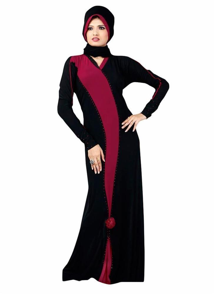 New Islamic Clothing Dubai Bahiyyah Jilbab Hijab Long Abayaa Maxi Dress Style…