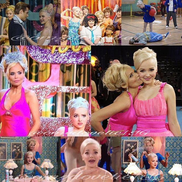 Amber Amber Amber. Now part of my obsession for the rest of my life. @dovecameron #misshairspray #missbalitmorecrabs