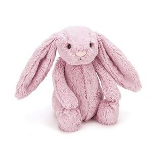 NEW ARRIVALS Bashful Tulip Pink Bunny  is a popular fellow with scrummy-soft Jellycat fur and lovely long flopsy ears. With just one cuddle, you'll never want to let go. Irresistibly cute and a perfect gift for girls. Everyone treasures this little tulip bunny. Medium $32.95 #sweetcreations #tulipbunny #girls #babies #kids