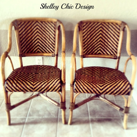 Vintage Woven Rattan French Cafe Bistro Table Chairs Home Design In 2018 Pinterest And