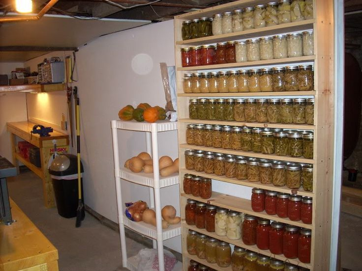 31 best images about how to store canning jars on for Can good storage ideas