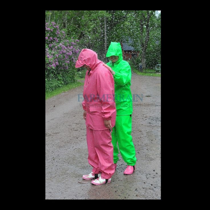 Rosa och limegrönt
