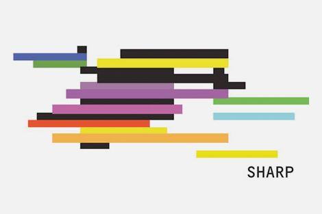Visual identity proposal for The Sharp Project. 'It's a piece of generative art that changes with the data flow in and out of the building, one that will never appear the same twice. The thinking behind the dynamic identity came from the realisation that a static logo would never be fitting for a building that will live and breathe 24/7, one that will thrive on collaboration and innovation.'
