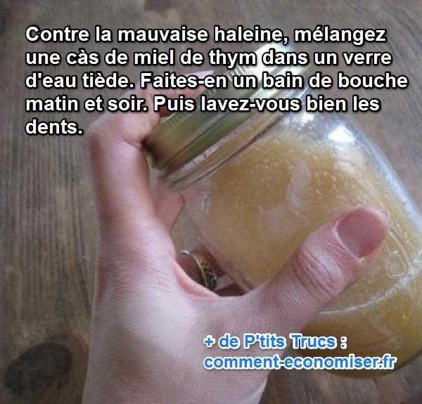 Le Remède Simple et Efficace Contre La Mauvaise Haleine.