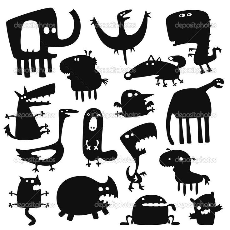 забавные животные — Стоковая иллюстрация #5148448