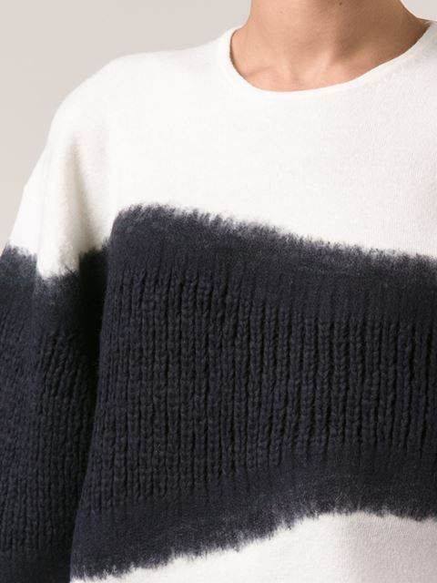 Shop 3.1 Phillip Lim felt tape sweater in Zoë from the world's best independent boutiques at farfetch.com. Over 1000 designers from 60 boutiques in one website.