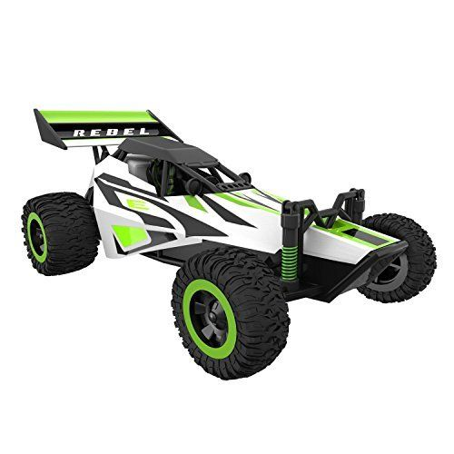 """Off #Road #Remote #Control #Car - """"Rebel"""" 1/32 #Scale #Rechargeable #RC #Cars #Series with #Cones and #Ramp for #High #Speed #Dune #Buggy #RC #Car ALL-TERRAIN #RC BUGGY: Kick up more dirt than many other (bigger) #remote #control #cars #RECHARGEABLE REBEL: Recharge this #cars electric fast via the #remote or with the included USB charger EXTRA BATTERIES: Fast #RC #cars need max power, and we deliver with 2 extra #rechargeable Li-Po batteries https://hobbiesandcrafts.bouti"""