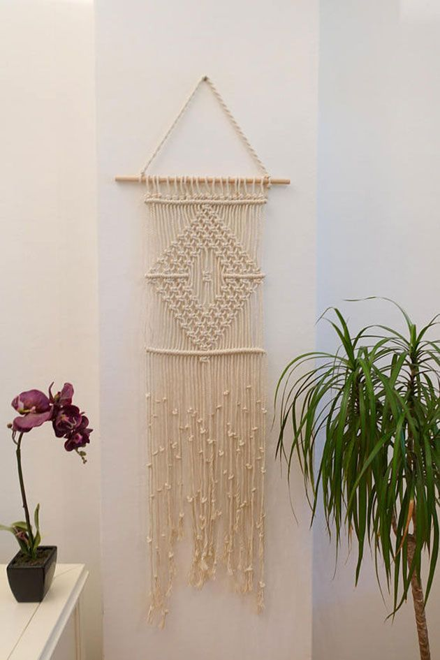 15 Tapices De Macrame Listos Para Colgar En La Pared - Tapices-pared