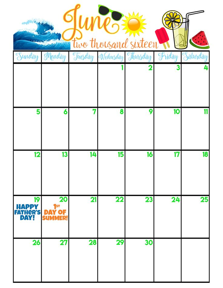 June Calendar Picture Ideas : The best june calendar printable ideas on