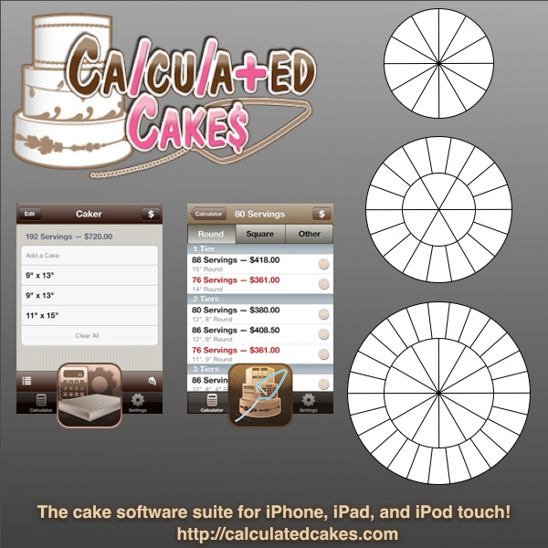 Best Decorating Apps: 14 Best Calculated Cakes Software Suite- Cake Apps For