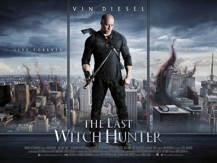 Nuevo clip y spots para 'El último cazador de brujas': Vin Diesel cazando monstruos.
