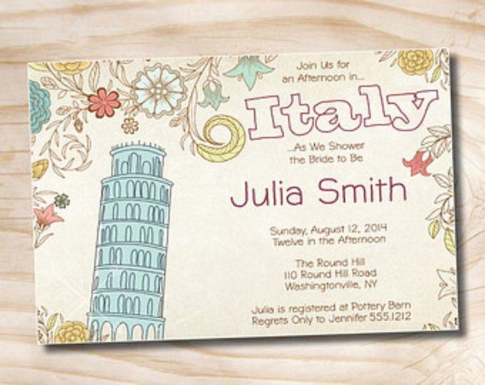 Best 25+ Italian bridal showers ideas on Pinterest ...