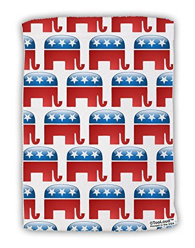 TooLoud Republican Symbol All Over Micro Terry Sport Towel 11x8 All Over Print ** Want to know more, click on the image.