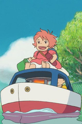 Ponyo - Studio Ghibli