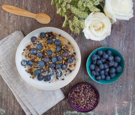 Creamy Coconut Porridge | Deliciously Ella