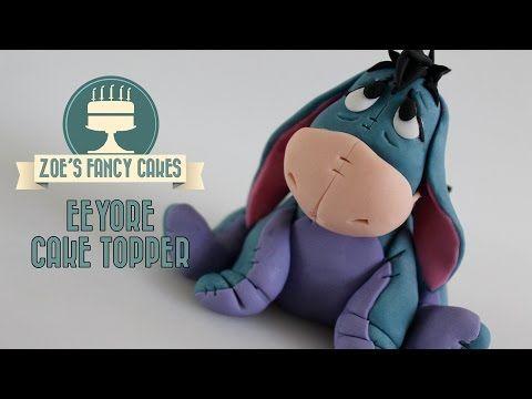 Winnie the Pooh: Eeyore cake model tutorial - YouTube