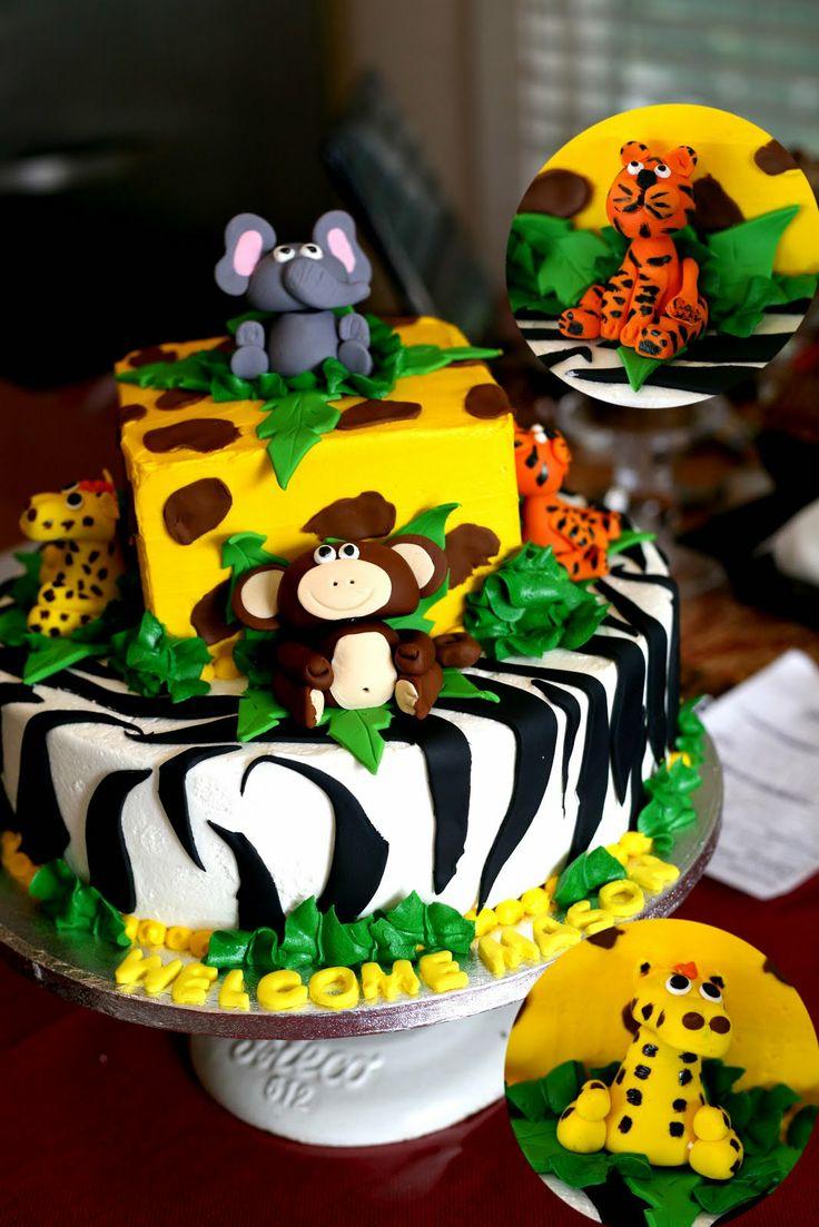 одну картинка для торта в стиле сафари выращивать его