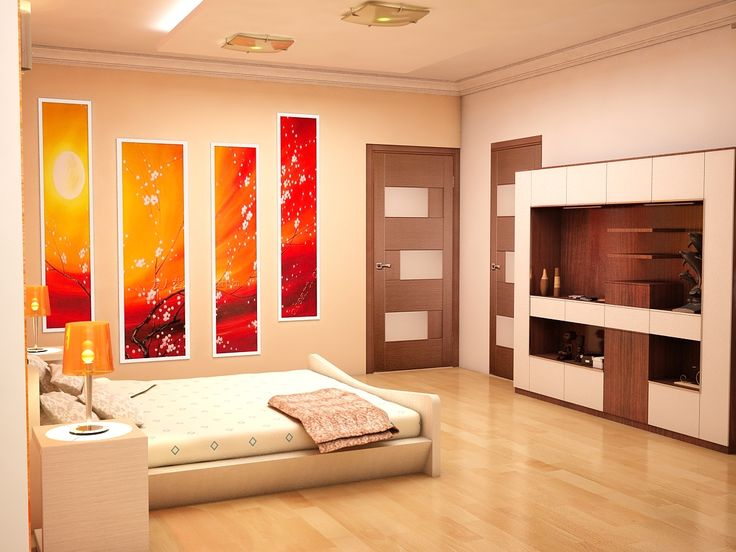 Elegant Bedroom Interior Design | Bedroom Wall Decoration Ideas  Click this link to view more details - http://Interiors.ApnaGhar.co.in/ Questions? Call Toll-Free No.- 1800-102-9440 Email: support@apnaghar.co.in