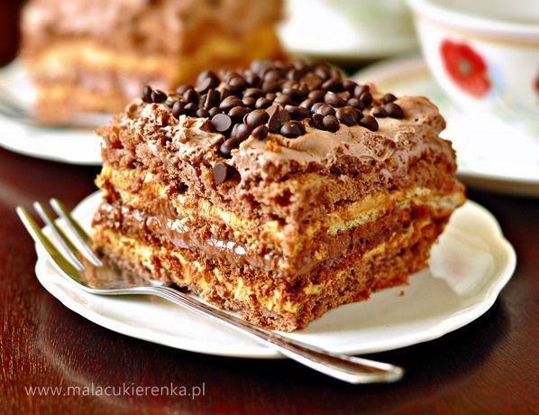 ciasto czekoladowa krówka