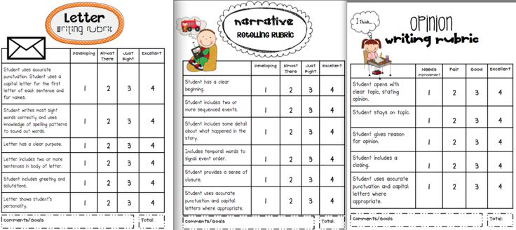 first grade writing rubrics Free rubrics for guided reading ms marciniak's first grade i'm a first year teacher and have been having a hard time creating a rubric for.