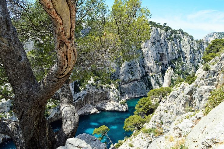 Hiking - Between Cassis and Marseille you'll find the enchanting Calanques.