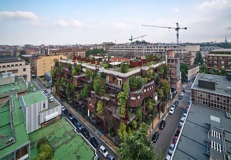 El arquitecto italiano Luciano Pia, tiene la hermosa visión de cómo las personas y la naturaleza pueden convivir juntas, incluso en un paisaje completamente urbano.