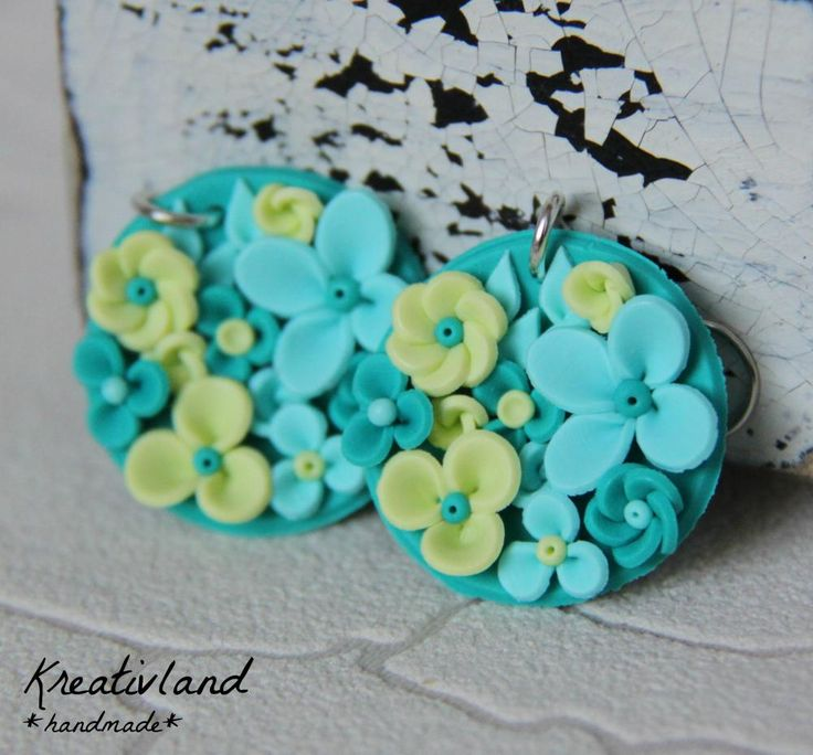 Fresh potpourri - handcrafted from polymer clay (own design)