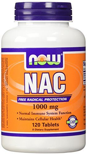 Now Foods N-Acetyl-Cysteine Tablet, 1000 mg, 120 Count ** You can get more details by clicking on the image.