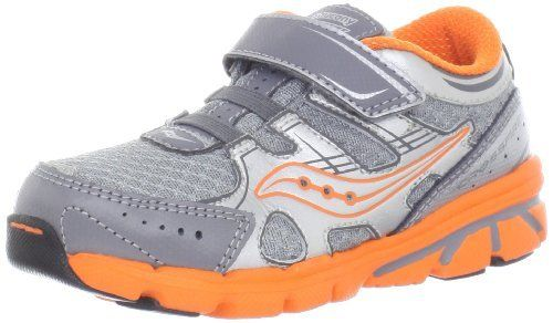 Saucony Boys Baby Crossfire A/C Shoe (Toddler/Little Kid) Saucony. $39.95. Leather/Mesh. Rubber sole