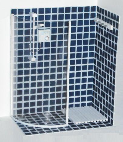 Walk-in shower kit | ELF Miniatures